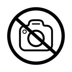 znak zakaz fotografowania