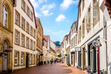 Türaufkleber Europäische Regionen Osnabrück, Altstadt