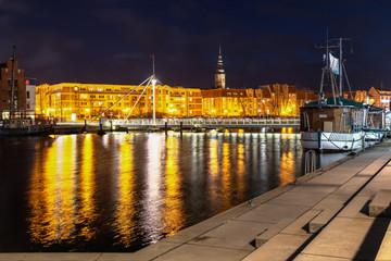 Greifswald am Abend