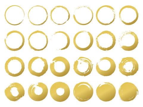 金の筆円1