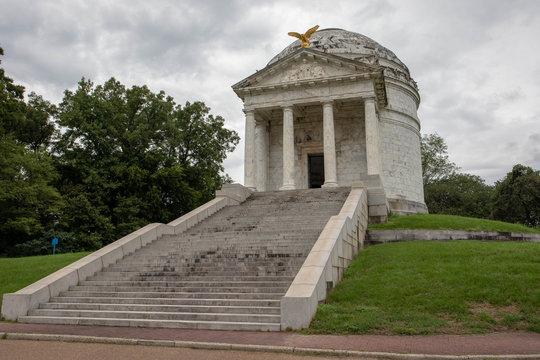 Vicksburg National Military Park preserves the site of the American Civil War Battle of Vicksburg