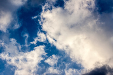 Clouds in the blue sky - Photography