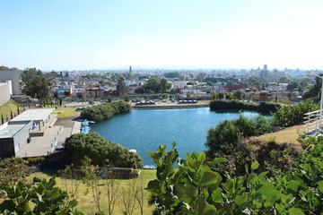 Laguna en la ciudad