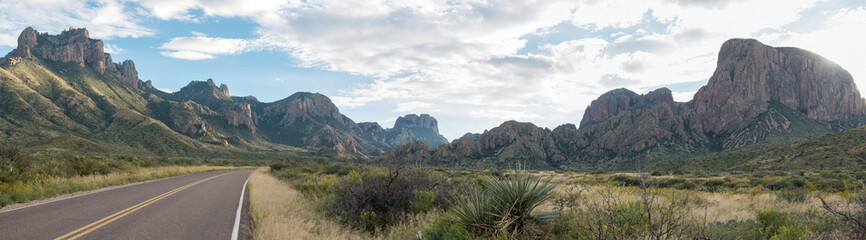 Foto auf Acrylglas Texas Big Bend Nationalpark