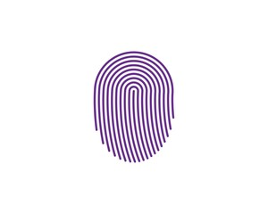 fingerprint illustration vector template
