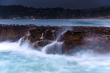 Turbulent Dawn Seascape