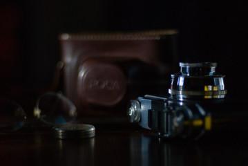 appareil, photo, vintage, camera, argentique