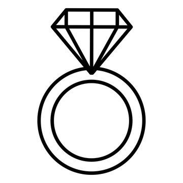 ring with diamond love