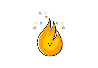Fire mbe style logo