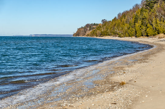 Super Blue Water on Lake Michigan