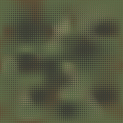 Camouflage pattern background seamless vector illustration. Military camouflage seamless pattern.