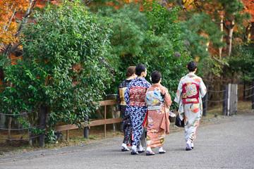 Foto op Plexiglas Asia land 着物で京都旅行