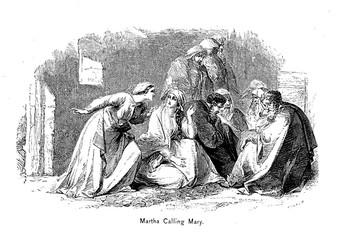Martha calling Marry