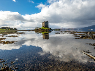 Castle stalker in Argyll - Scotland, UK