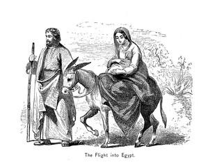 Flight into Egypt.