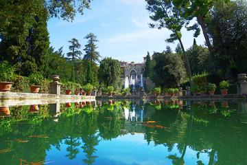 Villa d'Este is one of the most famous Italian villas of the XVI century. Italy