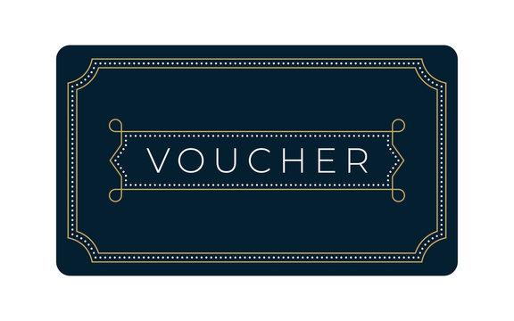 Art Deco Gift & Business Card Template