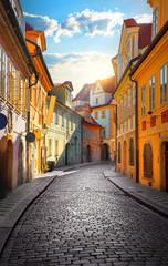 Obraz Street of Prague - fototapety do salonu