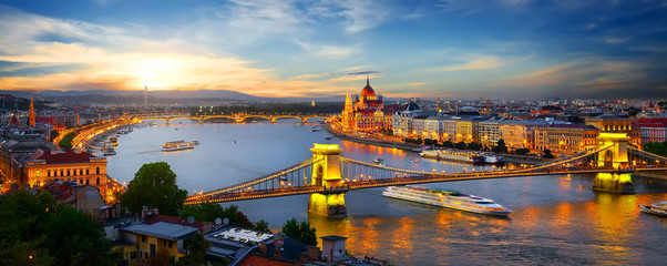 Parliament and bridges