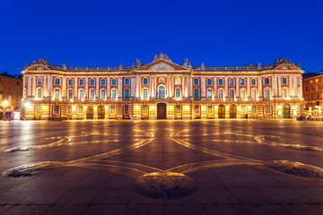 Tuinposter Europese Plekken Capitole or City Hall, Toulouse