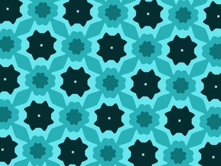 Luxury background with decorative geometric ornament. Retro creative design. geometric pattern in floral style. Simple fashion fabric print.
