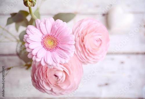Fruhlingsblumen Blumenstrauss Rosa Muttertag Hochzeit Geburtstag