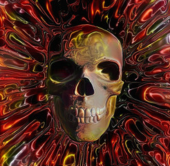 Skull Lava Design