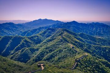Photo sur cadre textile Muraille de Chine Great Wall