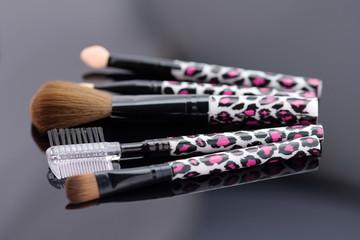 various, makeup brushes