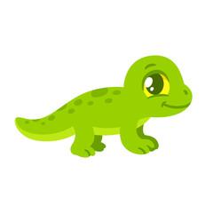Cartoon baby lizard