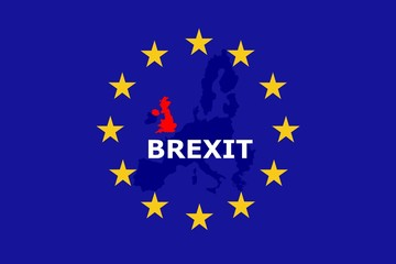 Fototapete - Brexit