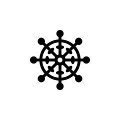 religion symbol, Buddhism icon. Element of religion symbol illustration. Signs and symbols icon can be used for web, logo, mobile app, UI, UX