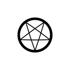 religion symbol, occultism icon. Element of religion symbol illustration. Signs and symbols icon can be used for web, logo, mobile app, UI, UX