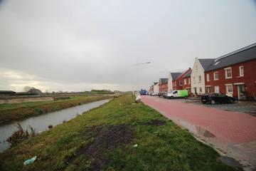 New residential district in the village of Zevenhuizen part of the municipality Zuidplas in the Zuidplaspolder named koningskwartier