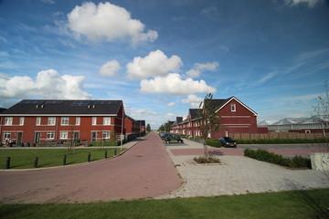 Zevenrozenhof, a new residential district at the Zuidplaspolder in Zevenhuizen, the Netherlands