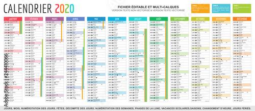 Calendrier 2020 Et 2020 Avec Vacances Scolaires.Calendrier Can 2020 Calendrier 2020 Modeltreindagen