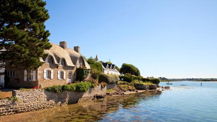 Fototapeta Village de Saint Cado > Morbihan > Bretagne > France obraz