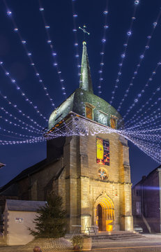 Objat (Corrèze - France) – Eglise Saint Barthélémy