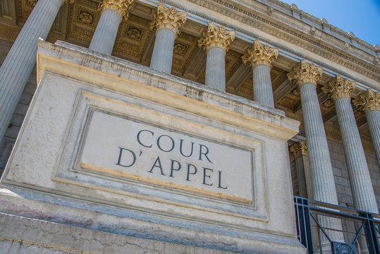 Palais de Justice, Cour d'Appel de Lyon