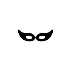 vector mask carnival illustration, party decoration object. celebration icon, Eye masc icon