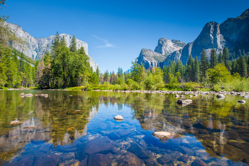 Papiers peints Etats-Unis Yosemite National Park in summer, California, USA