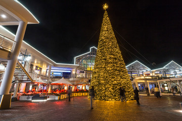 Christmas tree at V&A Waterfront, Cape Town