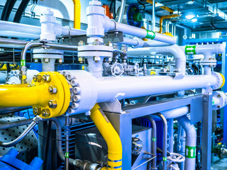 Pipeline. Compressor station. Gas. Industrial concept. Pipes. Liquefied gas. Carbon processing.