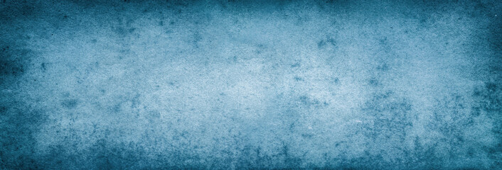 Blue paper. Vintage old paper abstract background.
