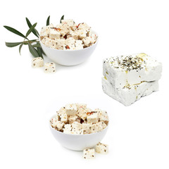 Feta cheese - famous Greek brebie cheese