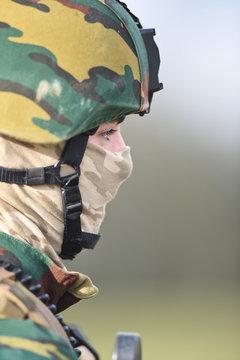 armee force defence militaire ABL arme soldat casque protection securite TACP jumelle materiel vetement