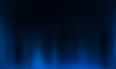 Product showcase spotlight background. Clean photographer studio. Abstract blue background with rays of neon light, spotlight.