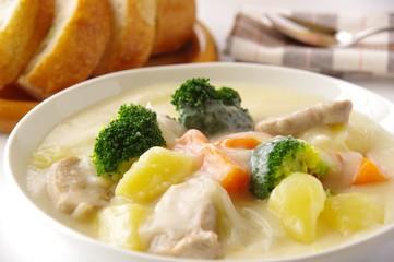 Türaufkleber Gericht bereit クリームシチュー シチュー 煮込み料理