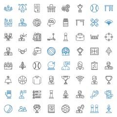 team icons set