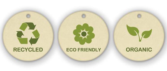 Set di icone ecologiche